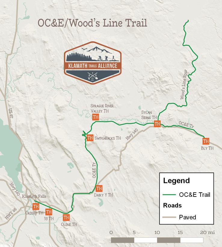 Trail Maps Klamath Trails Alliance